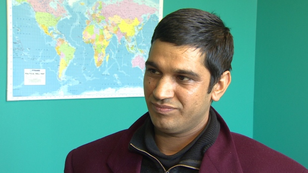 Baliram Bhatt, who has worked in this province for the past four years, received some good news Wednesday. He has been accepted into the Newfoundland and Labrador Provincial Nominee Program, paving the way for permanent resident status. (CBC)
