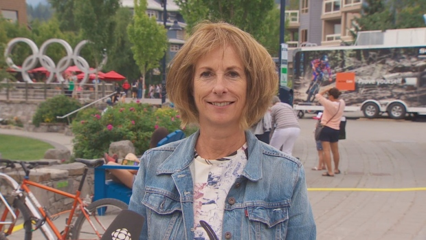 Whistler's Mayor Nancy Wilhelm-Morden is encouraging people to move to the resort town to work. (CBC)