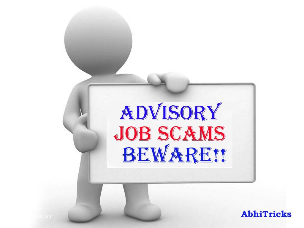 Recruitment Scams Beware