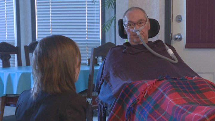 Sicamous Man With ALS