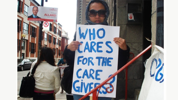 Who cares for caregivers